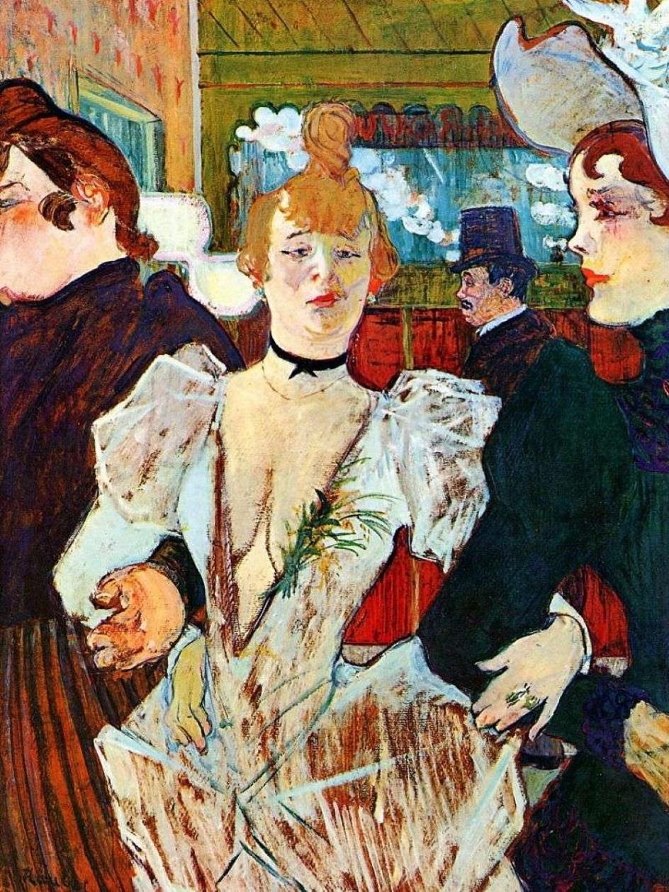 Анри Тулуз-Лотрек. Картина «Ла Гулю», дата создания неизвестна