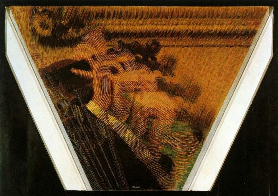 Джакомо Балла. Картина «Руки скрипача», 1912