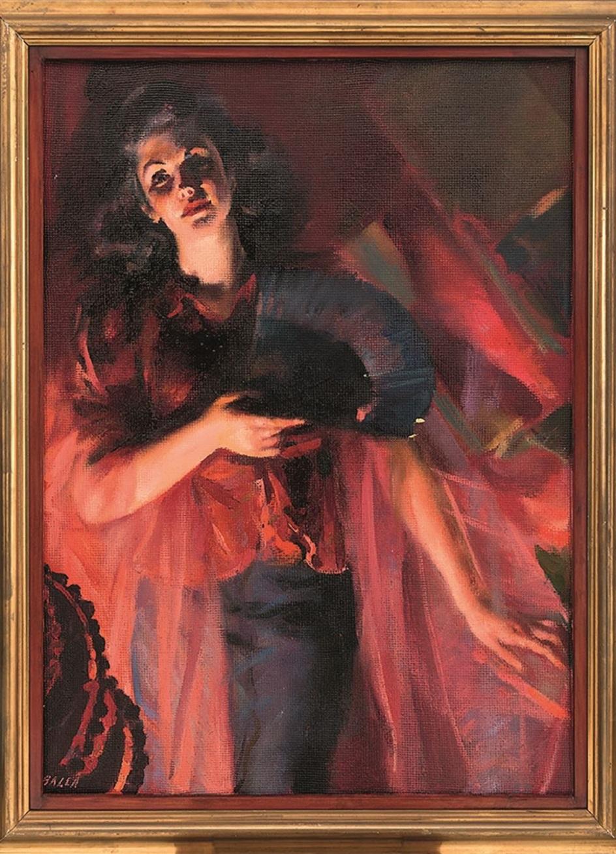 Джакомо Балла. Картина Autunno, 1940