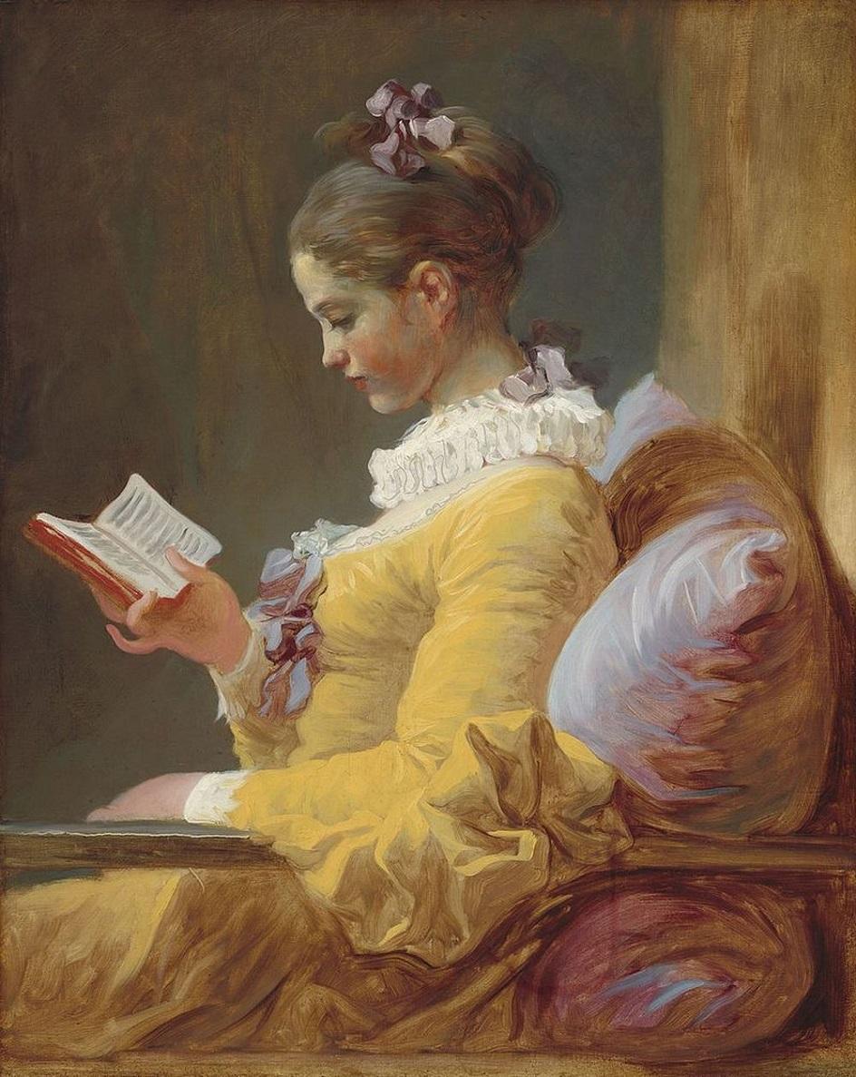 Жан-Оноре Фрагонар. Картина «Молодая читательница», 1769