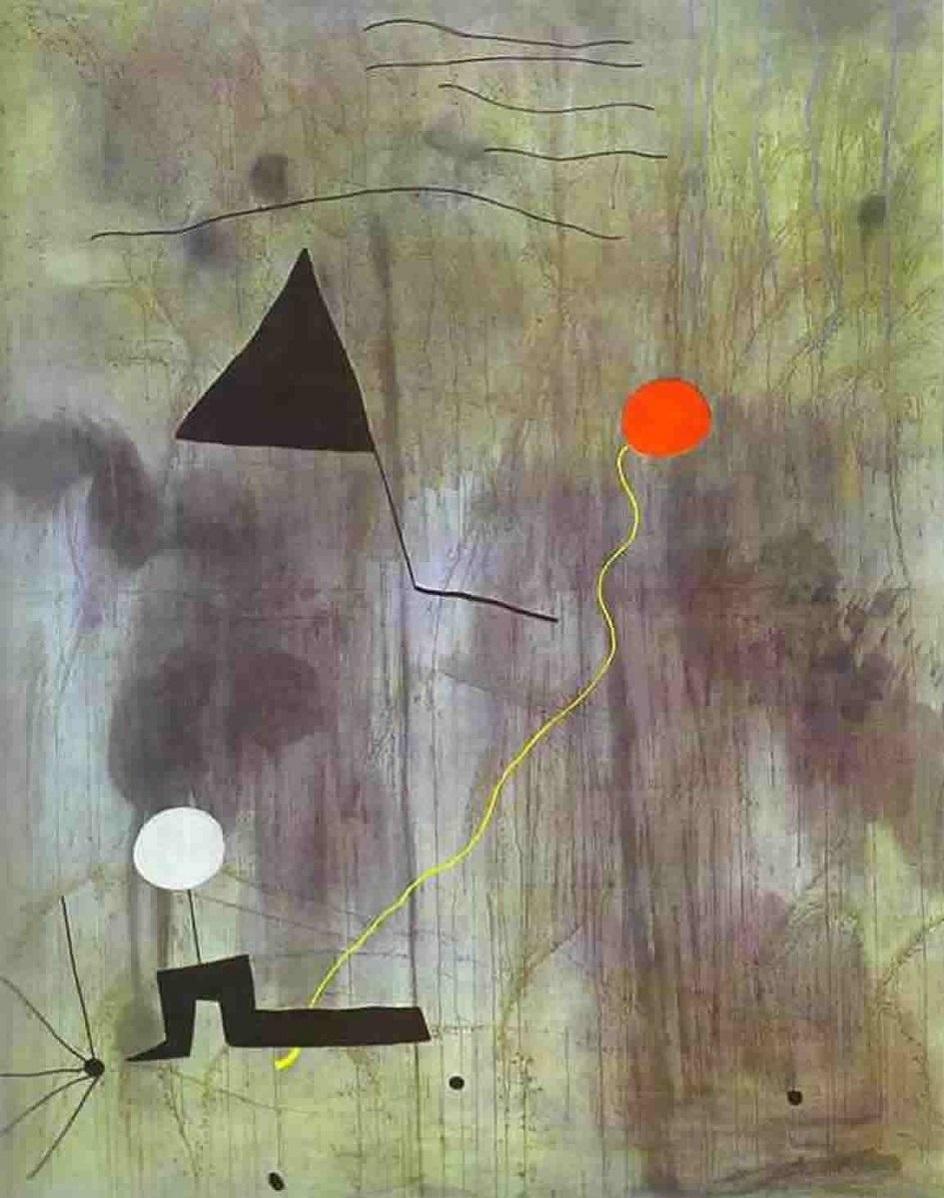Жоан Миро. Картина «Рождение мира», 1925