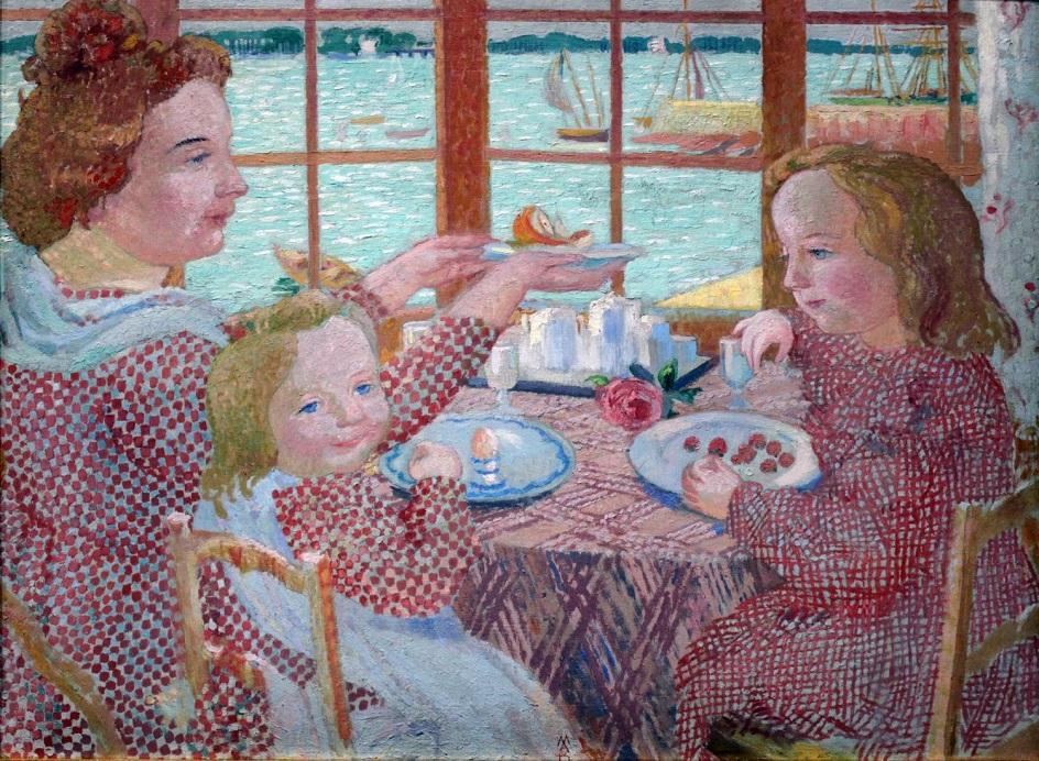 Морис Дени. Картина «Завтрак», 1901