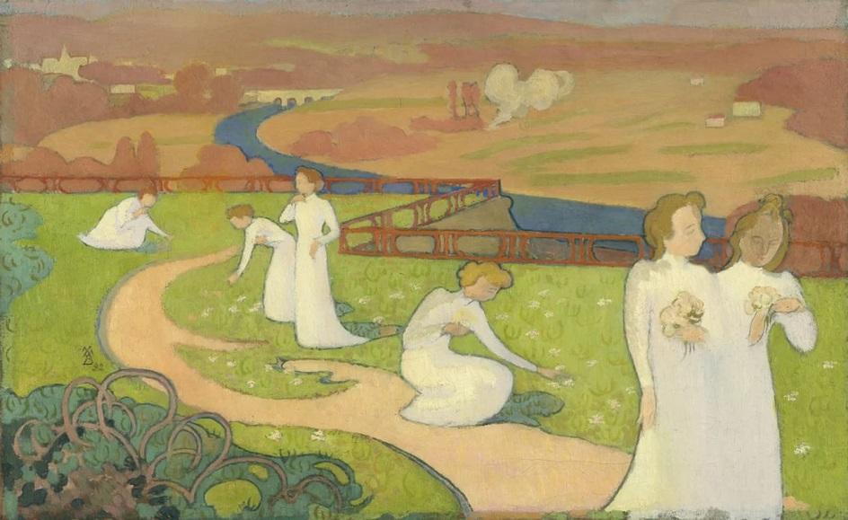 Морис Дени. Картина «Апрель», 1892