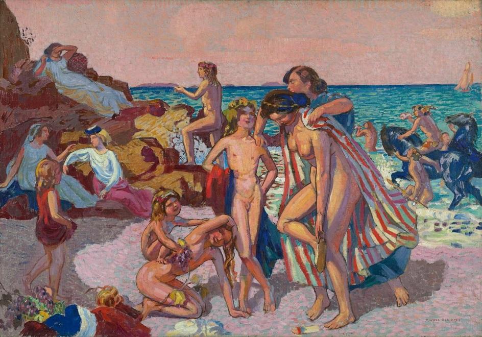 Морис Дени. Картина «Вакх и Ариадна», 1907