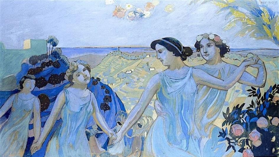Морис Дени. Картина «Фарандола», 1907