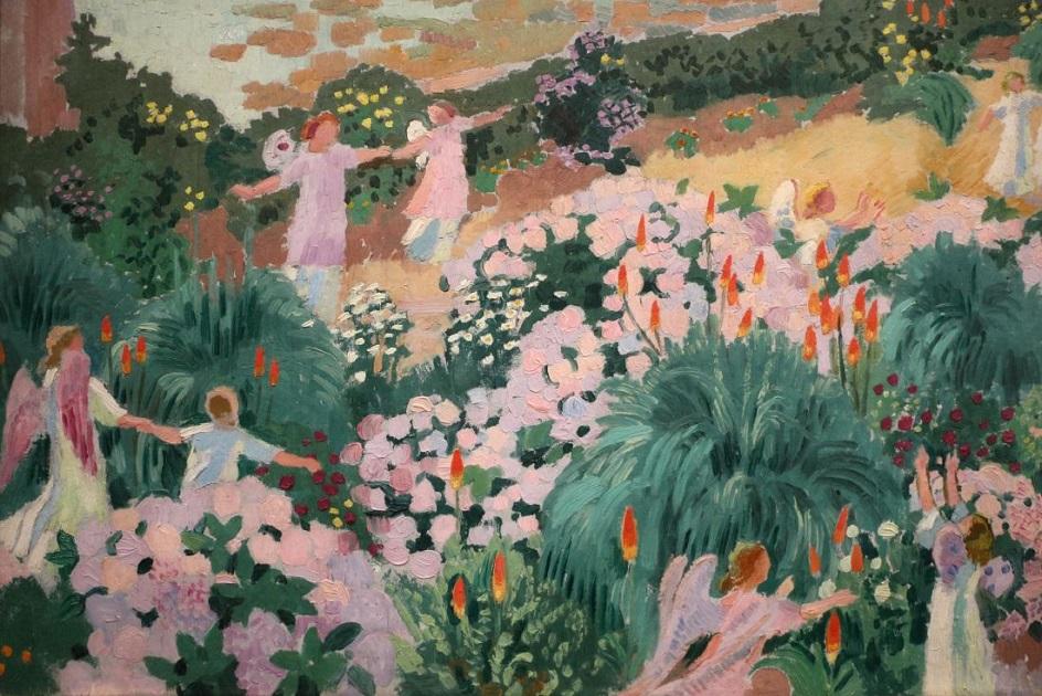 Морис Дени. Картина «Рай», 1912