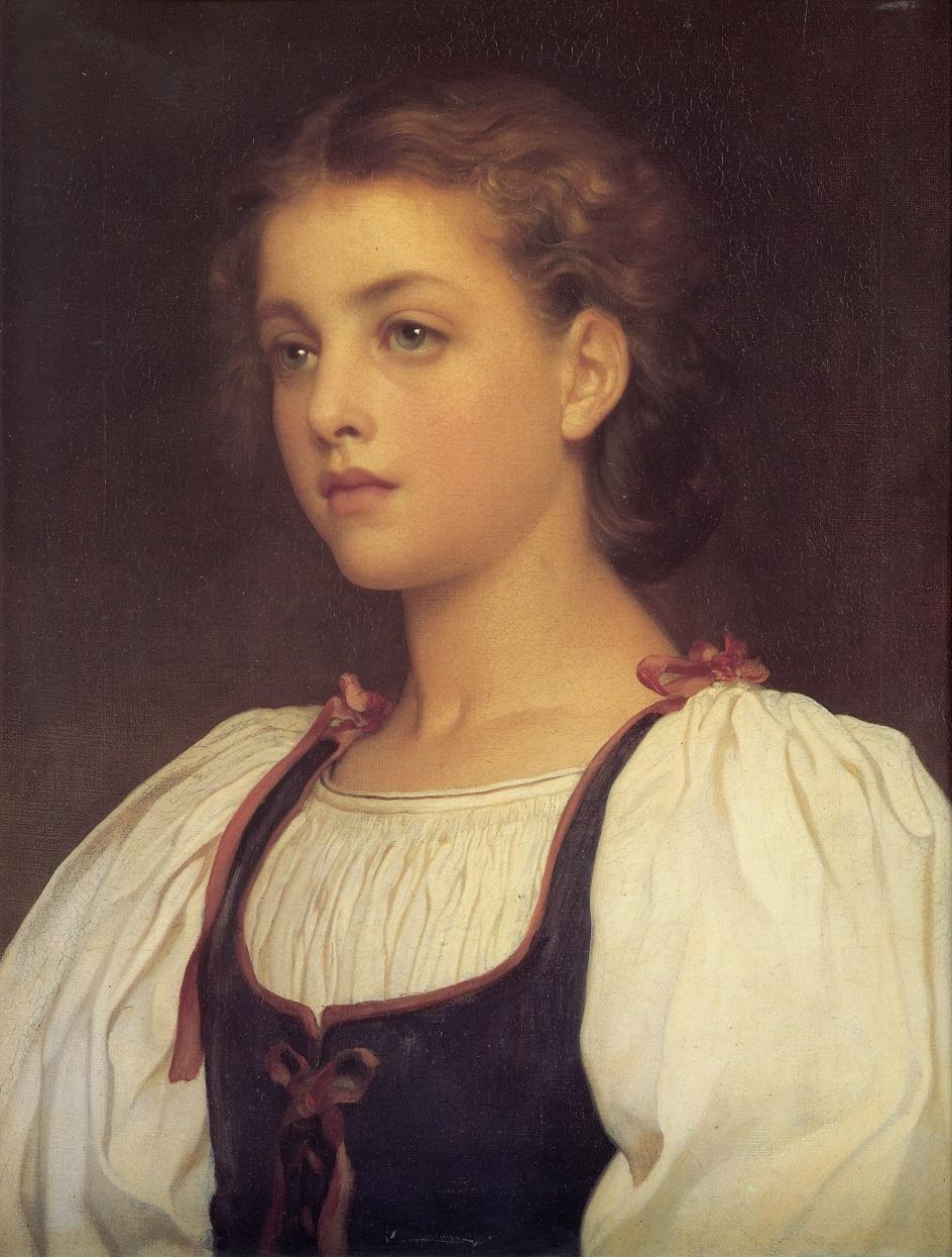 Фредерик Лейтон. Картина «Блондинка», 1879