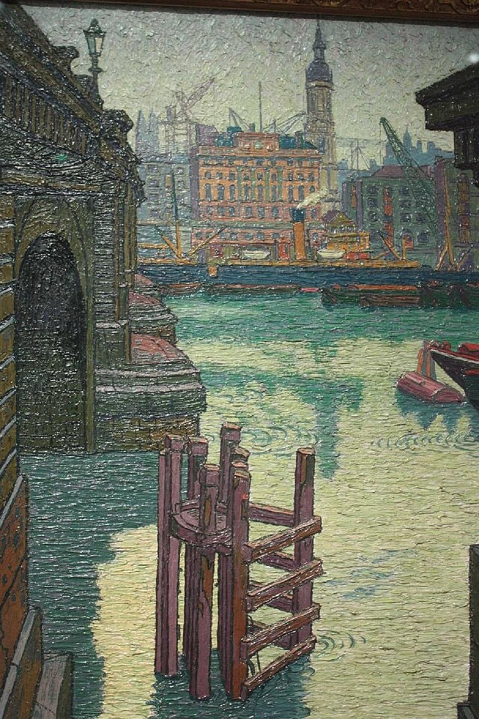 Шарль Жинне. Картина «Лондонский мост», 1913