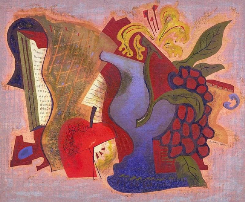 Энтони Велонис. Шелкография Decoration Empire, дата неизвестна
