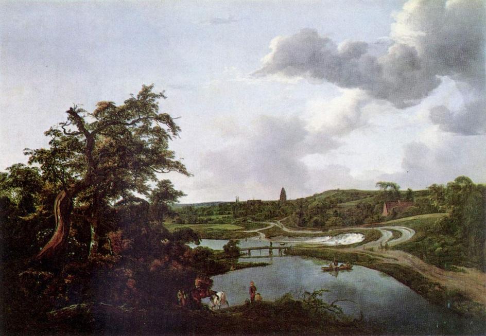 Якоб ван Рёйсдал. Картина. «Речной берег», 1649