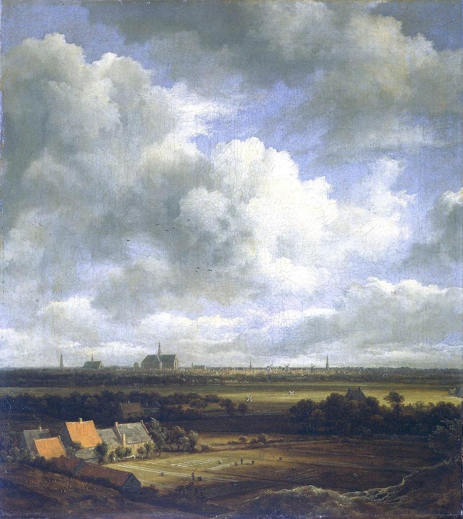 Якоб ван Рёйсдал. Картина. «Вид на Харлем», 2-я треть XVII века